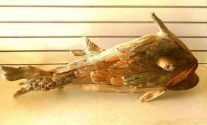 caribbean art, driftwood art