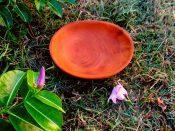 sm handcarved wooden bowl