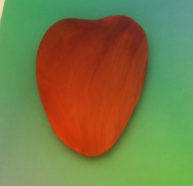 mahogany leaf tray