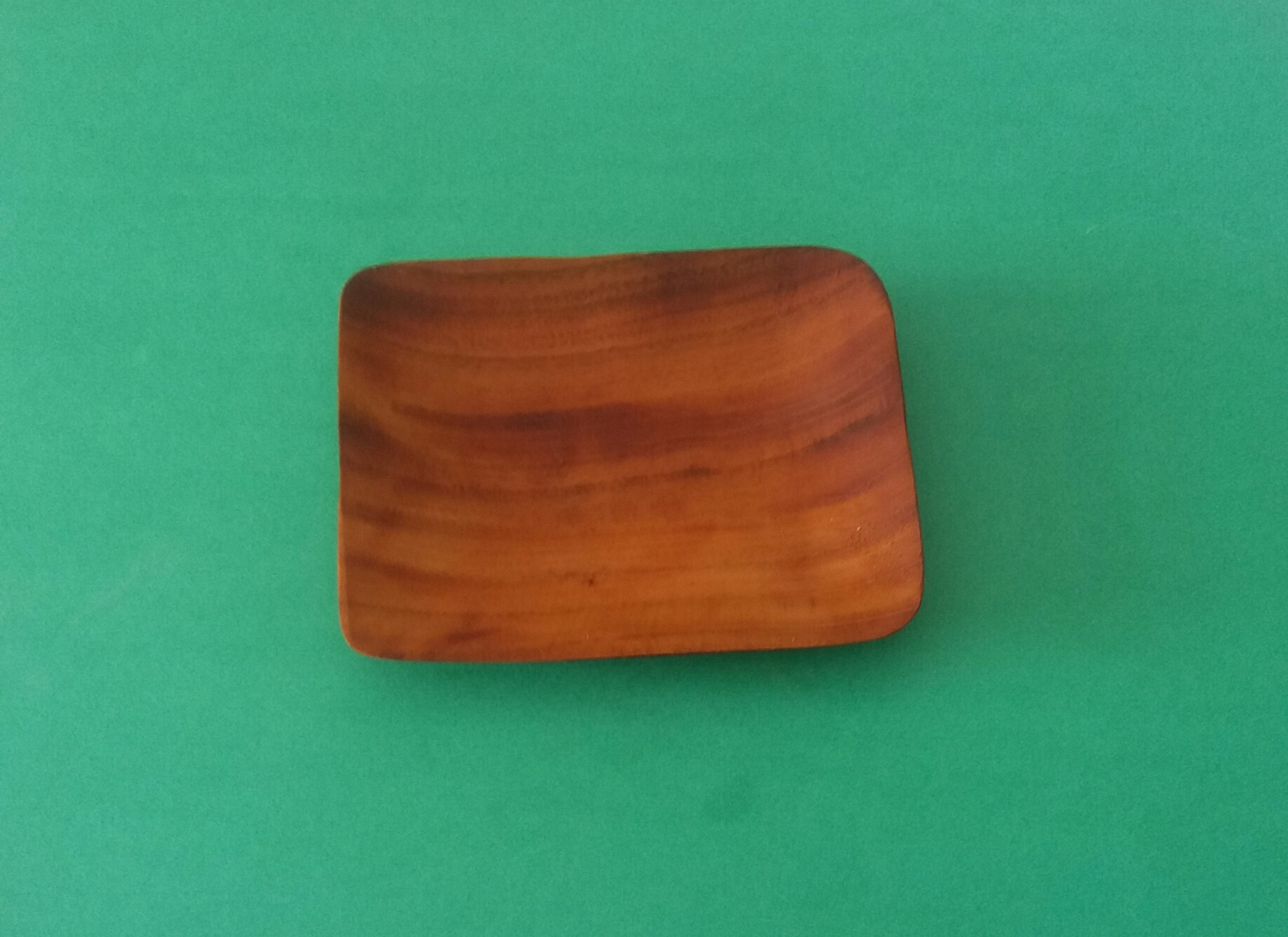 mahogany tray