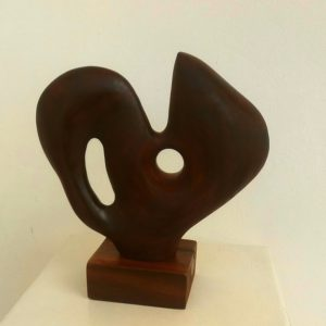 anguilla ebony sculpture