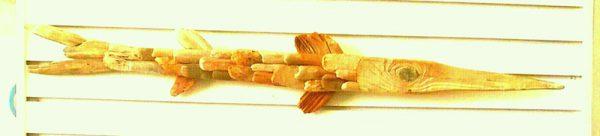 Driftwood fish by Paul-caribbean art
