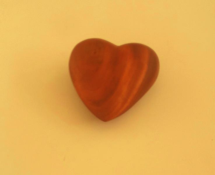 mahogany heart