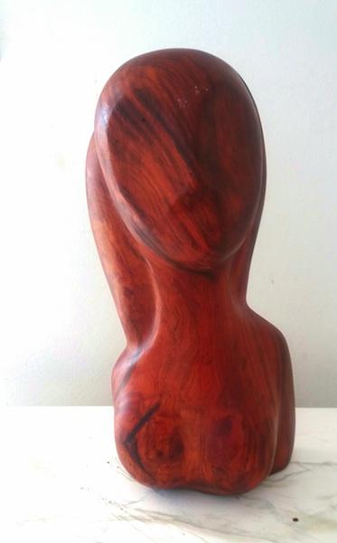 Mother Anguillita-antique mahogany